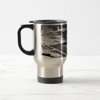 A6 Intruder on Approach Travel Mug