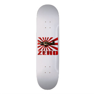 A6M Zero 18.1 Cm Old School Skateboard Deck