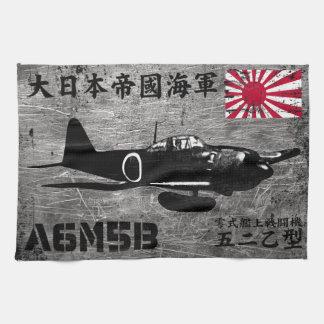 A6M Zero Tea Towel