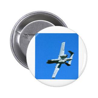 A-10 AIR COMBAT MANEUVERS (ACM) 6 CM ROUND BADGE