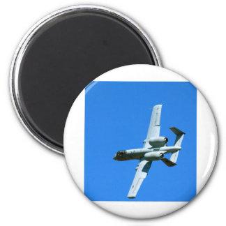 A-10 AIR COMBAT MANEUVERS (ACM) 6 CM ROUND MAGNET