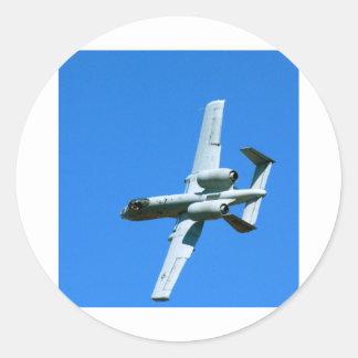 A-10 AIR COMBAT MANEUVERS (ACM) ROUND STICKER
