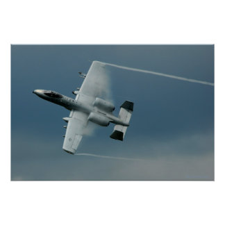 A-10  High Speed Maneuvers Poster