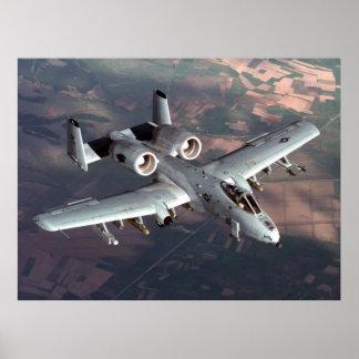 A-10 Plane Poster