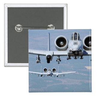 A-10 Thunderbolt II 15 Cm Square Badge