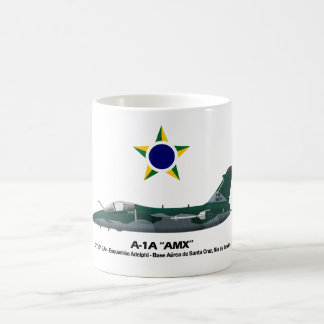 A-1A (AMX) Profile Brazilian Air Force Coffee Mug