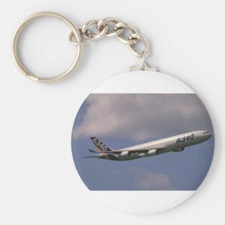 A-340 airbus European airliner Key Chain