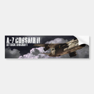 A-7 Corsair II Bumper Stickers