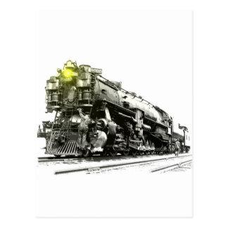 A 9000 Steam Locomotive Post Card