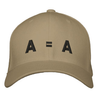 A = A EMBROIDERED CAP