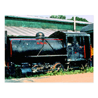 A&A Locomotive Postcard