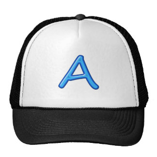 A AA AAA ALPHA ALPHABETS JEWELS GIFTS TRUCKER HAT