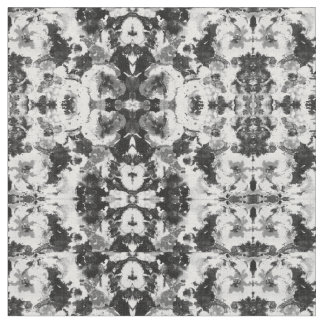 A abstract black white watercolor Pattern. Fabric