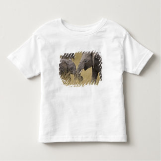 A African Elephant grazing in the fields of the T Shirts