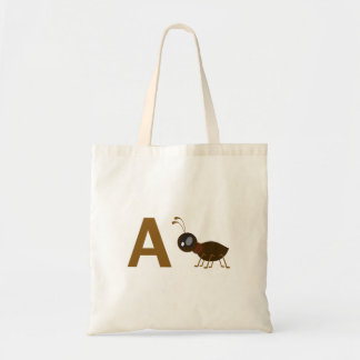 A - Ant Tote Bag