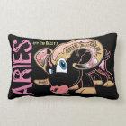 a #ARIES GIRL design by RUDE EYE LAND 1973 Lumbar Cushion