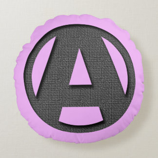 A as in freedom round cushion
