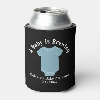 A Baby is Brewing - Couples Shower Favour Blue Boy