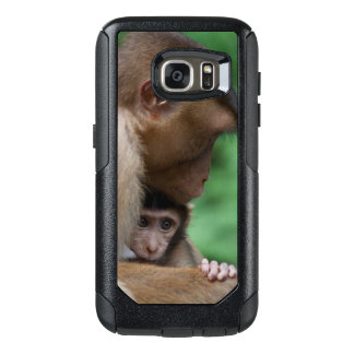 A Baby Macaque And It'S Mother OtterBox Samsung Galaxy S7 Case