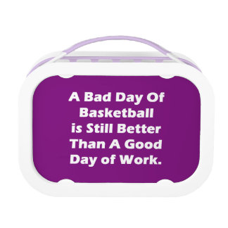 A Bad Day Of Basketball Lunch Boxes