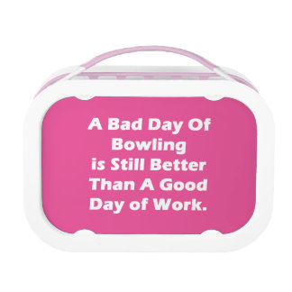 A Bad Day Of Bowling Lunch Boxes