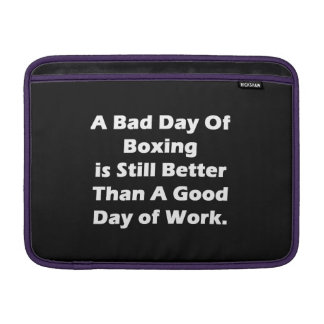 A Bad Day Of Boxing Sleeve For MacBook Air