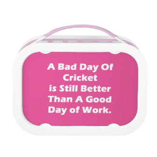 A Bad Day Of Cricket Lunch Boxes