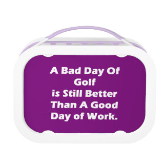 A Bad Day Of Golf Lunch Boxes