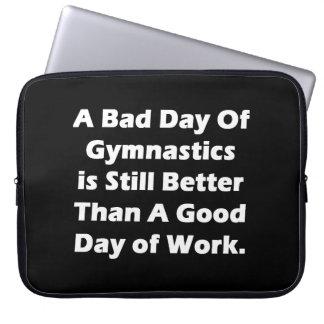 A Bad Day Of Gymnastics Laptop Computer Sleeve