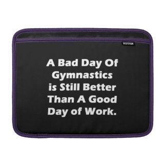 A Bad Day Of Gymnastics MacBook Sleeves