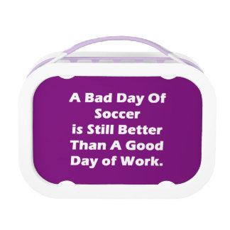 A Bad Day Of Soccer Lunch Box
