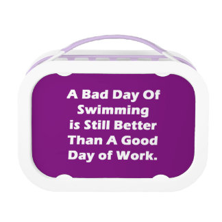 A Bad Day Of Swimming Lunchbox