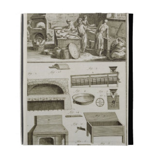 A bakery and baking equipment, from the 'Encyclope iPad Folio Cover