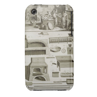 A bakery and baking equipment, from the 'Encyclope iPhone 3 Covers