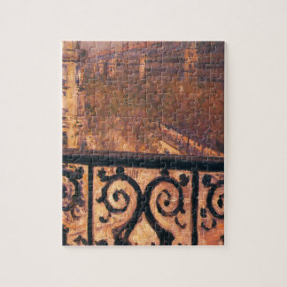 A Balcony in Paris by Gustave Caillebotte Jigsaw Puzzle