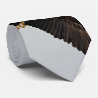 A Bald Eagle Takes to the Sky Tie