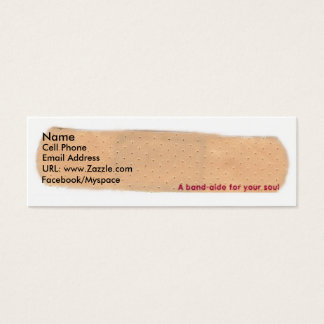 A band-aide for your soul Profile Card