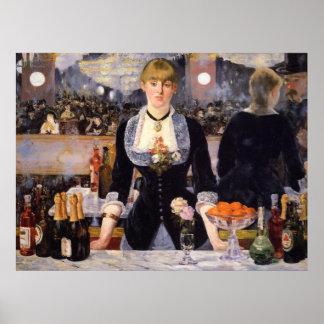 A Bar at Folies-Bergère Poster