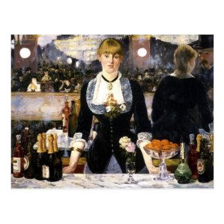 A bar at the Folies-Bergère Postcards