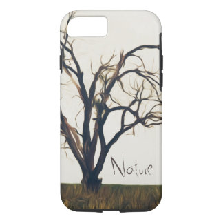 A Bare Tree Alone with Big Branches iPhone 8/7 Case
