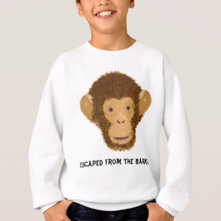 A Barrel Full of Monkeys Sweatshirt