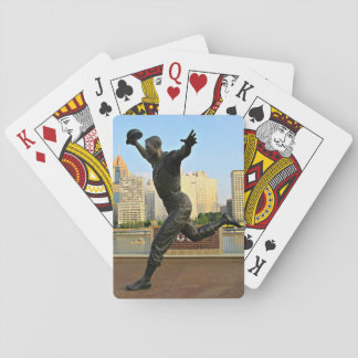 A Baseball Player On Playing Cards