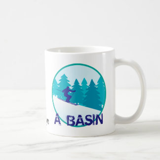 A Basin Ski Personalized Coffee Mug