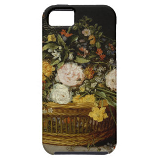 A Basket of Flowers - Jan Brueghel the Younger Tough iPhone 5 Case