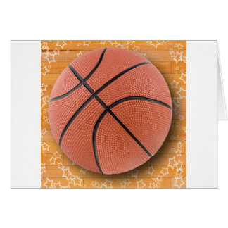 A Basketball Greeting Cards