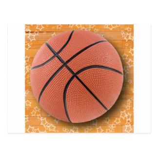 A Basketball Postcard