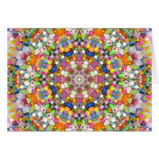 A Bead Mandala Card