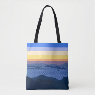 A beatyfull sunrise Card WalletTote Bag