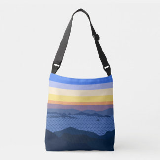 A beatyfull sunrise Cross Body Bag