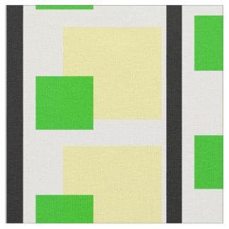 A beautiful Black Green and gold pattern JN:01 Fabric